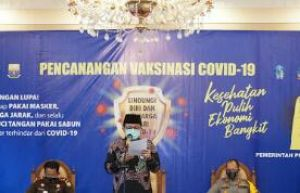 Fachrori : Provinsi Jambi Dukung dan Siap Sukseskan Vaksinasi Covid-19