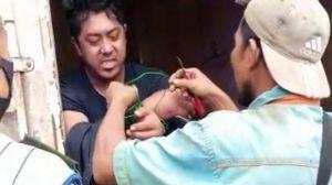 Diduga Korban Perampokan, Warga Bukit Baling Temukan Orang Disekap dalam Box Kontrainer