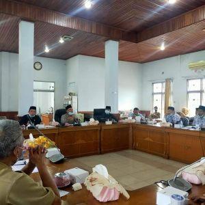 Komisi I Gelar Rapat Dengar Pendapat Bersama Forum Guru PGRI Batanghari