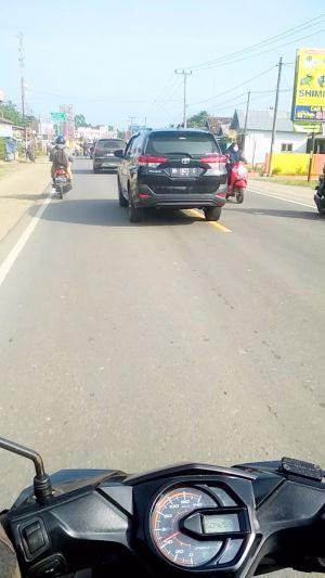 Oknum Pejabat Muarojambi Diduga Ganti Warna Plat Mobil Dinas