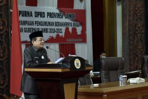 Pamit Mengakhiri Jabatan Gubernur, Fachrori : Saya akan Mendukung Kemajuan Provinsi Jambi