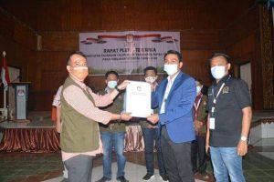 KPU Tetapkan Pasangan Fadhil - Bakhtiar Pemenang Pilkada Batanghari Tahun 2020