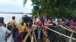 Warga Pematang Pulai Jatuh dan Tenggelam di Sungai Batanghari