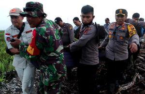 Tim Gabungan TNI-Polri dan BPBD Tinjau Area Revitalisasi Kanal di Lahan Gambut