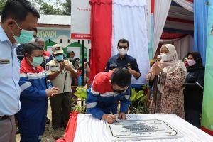 Bupati Muaro Jambi Apresiasi dan Resmikan PAUD Patra Serandi Bantuan PEP Asset 1 Jambi Field