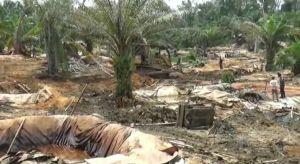Aparat Tutup Paksa Ribuan Sumur Minyak Ilegal di Bajubang