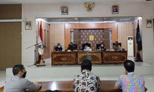 Dandim Sarko Hadiri Rakor, Evaluasi dan Perencanaan Penanganan Covid-19 Tahun 2021 di Merangin