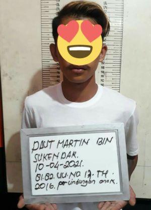 Cabuli Anak Dibawah Umur, DM Diamankan Polisi
