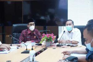 Wabup Bakhtiar Rapat Audensi dengan BWSS VI di Kementerian PUPR Ditjen SDA BWSS VI