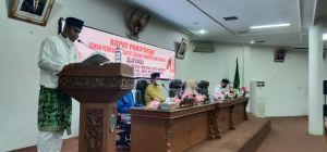 DPRD Batanghari Laksanakan Rapat Paripurna Pembacaan Keputusan DPRD