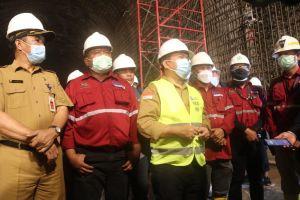Dukung Pembangunan  PLTA Batang Merangin, Al Haris Tinjau Lokasi Terowongan Air