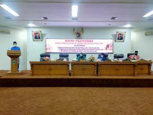 DPRD Batanghari Laksanakan Rapat Paripurna Tiga Agenda Sekaligus
