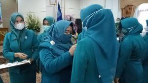 Hj Nurhaida Lantik Ketua TP PKK Delapan Kecamatan