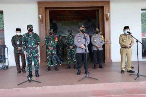 Al Haris Paparkan Aksi Percepatan Penganganan Covid 19 Didepan Kapolri dan Panglima TNI