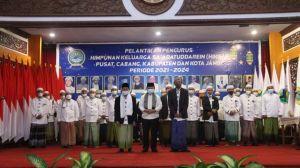 Gubernur Kukuhkan Kepengurusan Himpunan Keluarga Sa'adatuddaren Periode 2021-2024