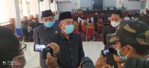 Bupati Merangin Sampaikan KUPA dan Perubahan-PPAS 2021