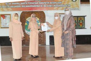 Bupati Fadhil Arief Hadiri Acara Sertijab Ketua DWP Batanghari